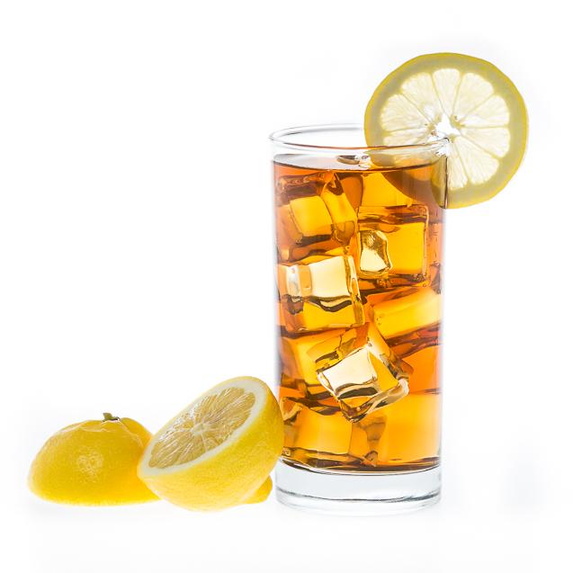 Kansas City Food Photographer - Iced Tea with Lemon