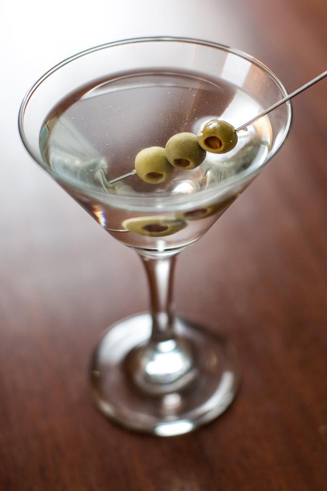 Kansas City Food Photographer - Martini - Cocktails - Restaurant