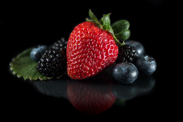 Kansas City Food Photographer - Studio Food Photography - Fruit