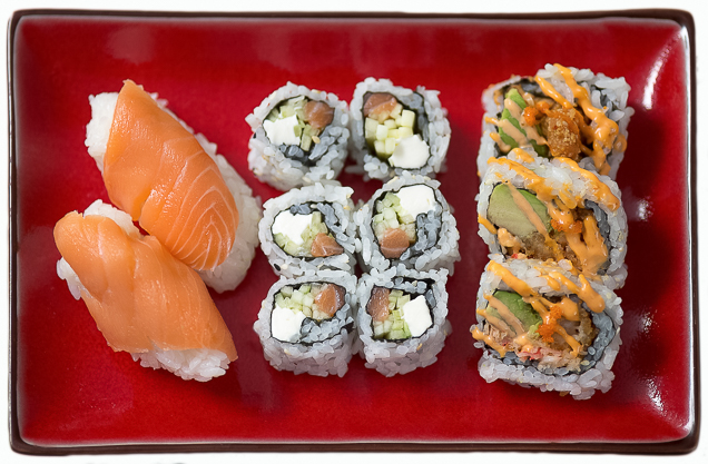 Kansas City Food Photographer - Sushi