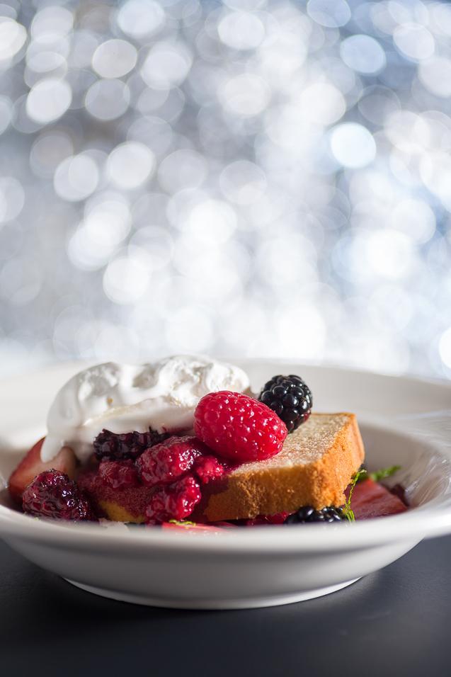 mystik catering mixed berry sponge cake with whipped cream - kansas city food photographer - www.anthem-photo.com - 007