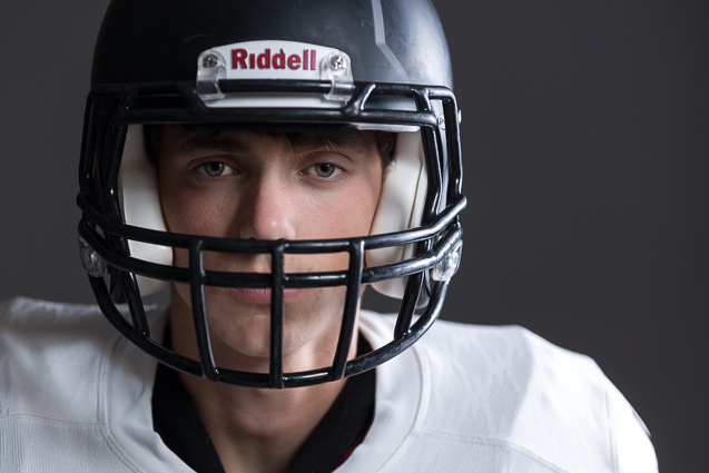 Senior Football Portraits | Lee's Summit North High School | Alt