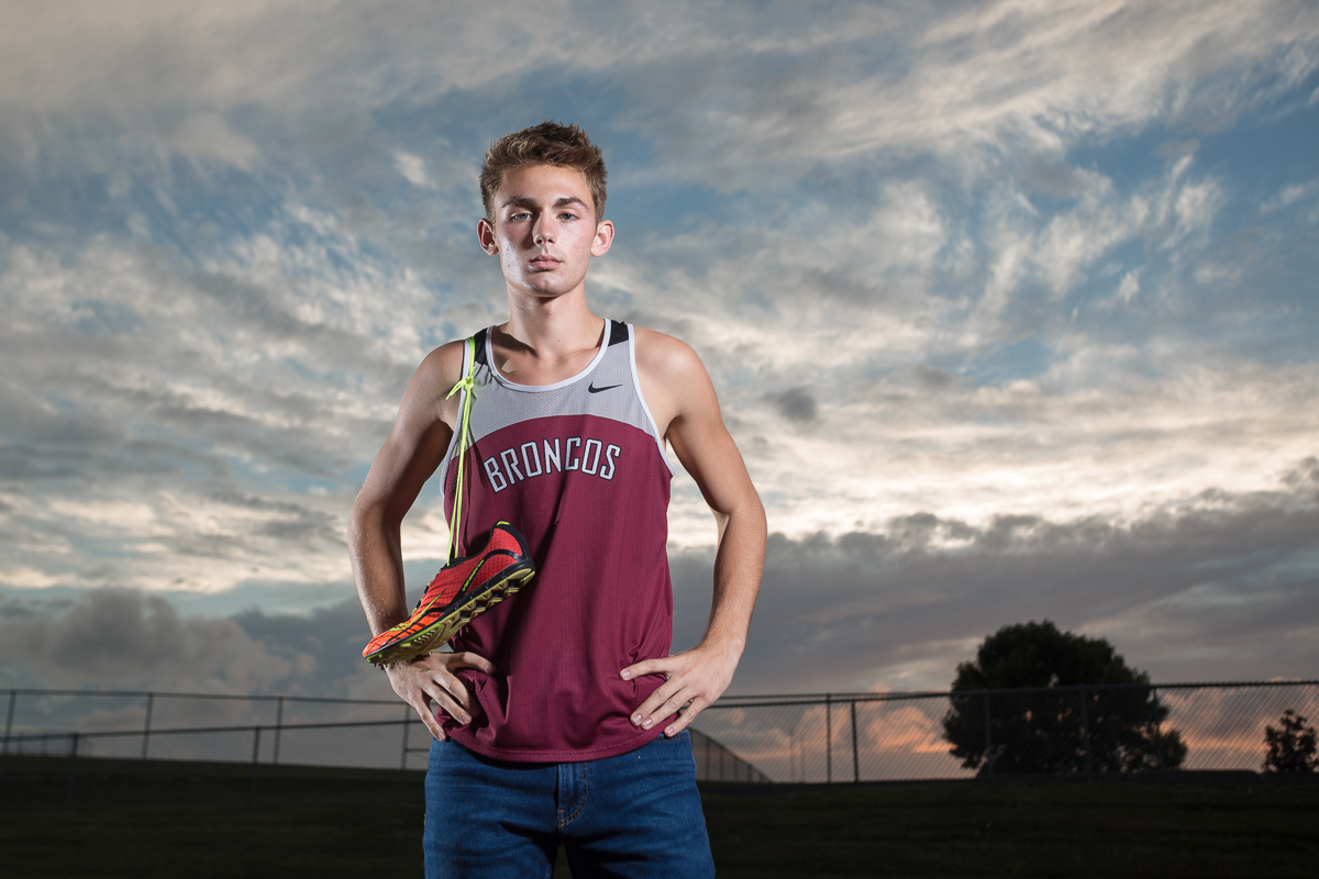Track and Field Senior Photos